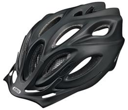 ABUS Fahrradhelm Aduro, Schwarz(black matt), 58-62 cm, 52024 -
