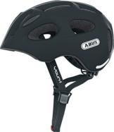 Abus Fahrradhelm Youn-I, velvet black, 52-57 cm, 12807-3 -