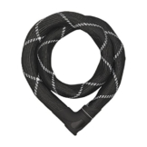 ABUS Kettenschloss Iven 8210/110, Black, 110 cm, 55153 -