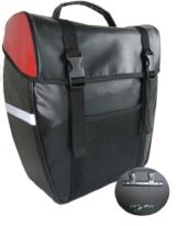 amaro Herren Gepäcktasche Stabile, schwarz-rot, 32,5 x 37 x 16 cm -