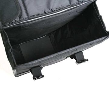 Basil Doppelpacktasche Tour, Black, 32 x 12 x 32 cm, 26 Liter, 17002 -