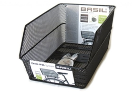 Basil Fahrradkorb Cento WSL, schwarz, 11205 -