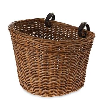 Basil Fahrradkorb Darcy L, Varnished Natural, One Size, 15050 -