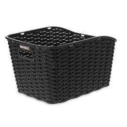 Basil Fahrradkorb Weave Wp, Black, One Size, 20015 -