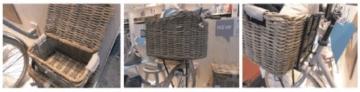 Basil Transportkorb Denton L, Nature Grey, 45 x 32 x 32 cm, 13047 -