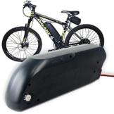 E-Bike Akku, 48V 10ah-17ah Lithium Li-Ion Akku mit USB Ladebuchse (unten Entlastung) [Sanyo Samsung Panasonic Zellen], 48V 17Ah Sanyo Cells, 48V 10Ah [Chinese Cell] -