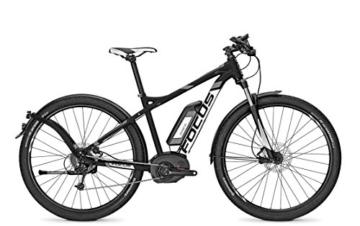 E-Bike Focus ELECTRIC-SPORT-ATB-2 JARIFA BOSCH PLUS 9G 11AH 36V Herren in black , Rahmenhöhen:51;Farben:blackm 36v/11ah -