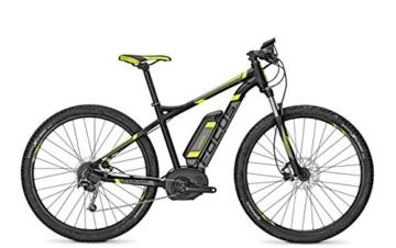 E-Bike Focus Jarifa Bosch E-Mountainbike 9G 29' 11Ah 36V Herren in black matt div. Rh, Rahmenhöhen:42, Farben:blackm 36v/11ah -