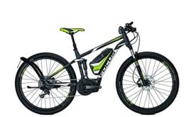 E-Bike Focus Thron Speed 11G E-Mountainbike 17Ah 26V 27,5' schnelles Ebike bis 45 km/h, Rahmenhöhen:44, Farben:greym 36v/17ah -