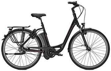 E-Bike Kalkhoff Impulse 2 AGATTU PREMIUM IMPULSE 8R 8-Gang 17Ah/250W/36V 28' Wave div. Rh, Rahmenhöhen:46;Farben:black -