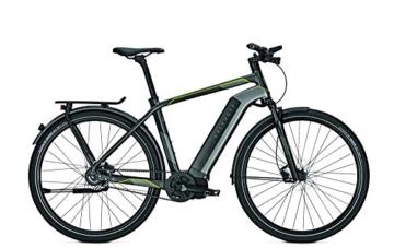 E-Bike Kalkhoff Integrale I8 Diamant Herren Riemen 8G Alfine Freilauf 17Ah 28', Rahmenhöhen:55, Farben:diamondblack/irongrey matt -