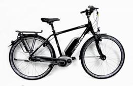E-Bike Raleigh CARDIFF B8R HS Herren 11AH in black, Rahmenhöhe:55 -
