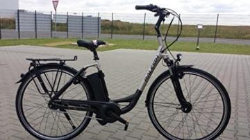 E-Bike Raleigh DOVER IMPULSE 7R HS 7G 28' 15AH 36V 250W Wave in grey/silver matt Modell 2015, Rahmenhöhe:46 -