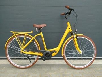 E-Bike Raleigh DOVER IMPULSE 7R HS Wave 11 Ah in yellow, Rahmenhöhe:50 -