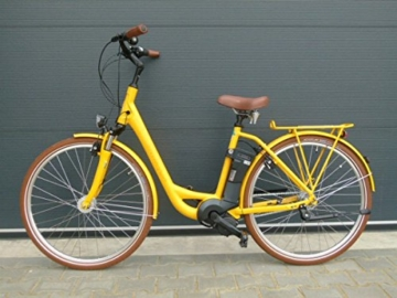 e bike raleigh dover impulse 7r hs wave 11 ah in yellow. Black Bedroom Furniture Sets. Home Design Ideas