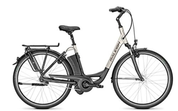 E-Bike Raleigh DOVER IMPULSE 7R HS Wave 11Ah in grey matt/silver matt, Rahmenhöhe:46 -