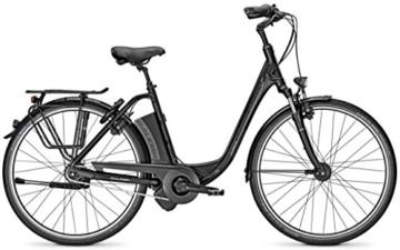 E-Bike Raleigh DOVER IMPULSE 8 HS 8G 28' 14,5AH/36V Tiefeinsteiger in black matt, Rahmenhöhen:46;Farben:Magicblack matt -