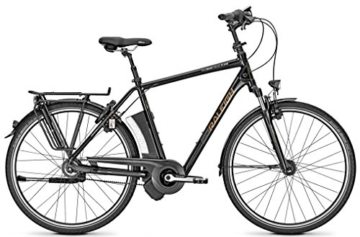 E-Bike Raleigh DOVER IMPULSE 8R CLUB Herren 8-G Rücktritt Riemenantrieb, Rahmenhöhen:50;Farben:Magicblack matt -