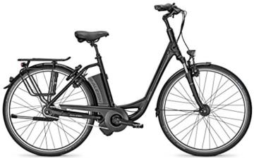 E-Bike Raleigh DOVER IMPULSE 8R HS Wave 8-G 14,5Ah Rücktritt Magicblack , Farben:Magicblack matt, Rahmenhöhen:XS46 -