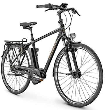 E-Bike Raleigh DOVER IMPULSE R CLUB 28' 8G 17Ah/36V/250W Herren in black, Rahmenhöhen:55;Farben:Magicblack matt -