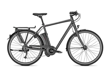 E-Bike Raleigh LEEDS IMPULSE 9 HS Herren 11,6AH in black matt, Rahmenhöhe:50 -