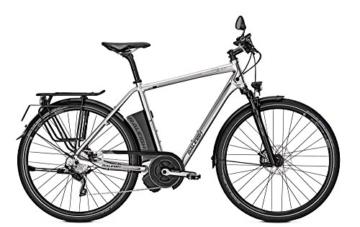 E-Bike Raleigh Stoker Impulse S10 HERREN 350 Watt/17 AH 28' 10-G bs 45 km/h, Rahmenhöhen:60;Farben:Chromosilver -