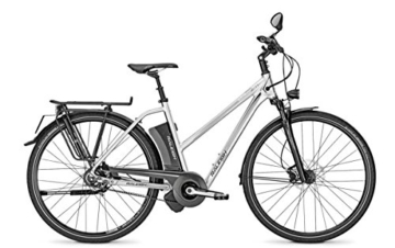 E-Bike Raleigh STOKER IMPULSE S11 Trapez 17AH in silver, Rahmenhöhe:50 -