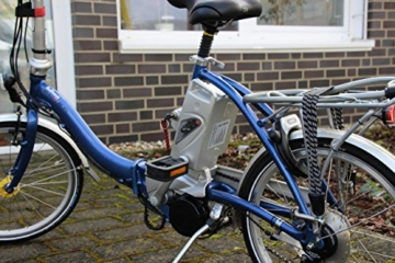 Ersatz-Akku für E-Bike Panasonic 26V 18Ah (Kettler, Flyer, Kalkhoff ab 2007) von GTE -