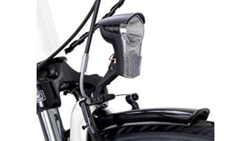 FISCHER FAHRRAEDER E-Bike City Damen Ecoline, 28 Zoll, 7 Gang, Mittelmotor, 317 Wh 71,12 cm (28 Zoll) -