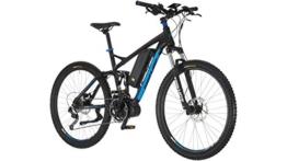FISCHER FAHRRAEDER E-Bike Mountainbike ProlineEvo EM1609, 27,5 Zoll, 9 Gang, Mittelmotor, 504 Wh 70 cm (27,5 Zoll) -