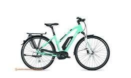FOCUS Aventura 8G E-Bike E Bike Pedelec Elektrofahrrad Trapez 50cm M 400Wh Akku Aquablue/Schwarz Modell 2017 -