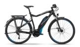 HAIBIKE Sduro Trekking RC Herren schwarz/cyan/grau matt Rahmengröße 52 cm 2016 E-Trekkingrad -