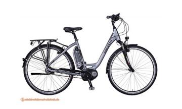 KREIDLER Vitality Eco 1 E-Bike E Bike Pedelec Elektrofahrrad Wave 46cm Mattanthrazit 28'' 400 Wh Akku Modell 2017 -