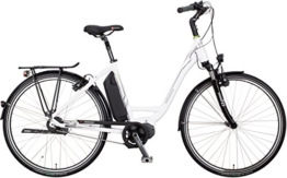 "Kreidler Vitality Eco 4 Di2 RT Elektro Fahrrad/City eBike 2016 (Weiss, 28"" Wave 55cm) -"