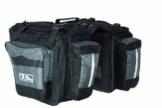 M-Wave Gepäcktasche 3-fach Traveller, schwarz/ grau, 62 l -