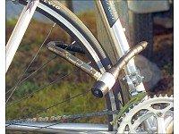 PEARL Stahl-Fahrradschloss mit spezialgehärtete 15mm Stahlhülsen, 80cm -