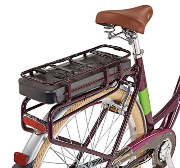 Prophete Damen Elektrofahrrad E-Bike 28 Zoll Navigator Flair, aubergine, 50, 52116-0111 -