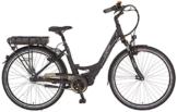 Prophete Damen Elektrofahrrad E-Bike Alu-City 28 Zoll E-Novation premium mit Rücktritt Navigator 6.7, schwarz matt, 46, 52556-0111 -
