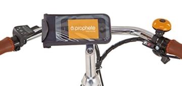 Prophete Herren Elektrofahrrad E-Bike 28 Zoll Navigator Flair, british green, 52, 51116-0111 -