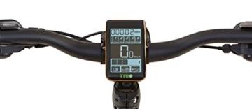 Prophete Herren Elektrofahrrad REX E-Bike Alu-MTB Twentyniner 29 Zoll Bergsteiger 6.8, anthrazit matt, 50, 51566-0111 -