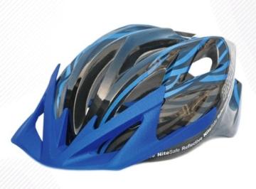 Prowell Helmets F5000R Fahrradhelm schwarzblau Gr. M (55-61 cm) -