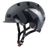 Uvex Fahrradhelm Hlmt 5 Bike Pro, Black Mat, 55-58, 4103030717 -