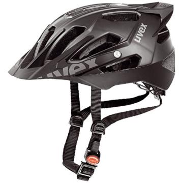 Uvex Fahrradhelm Quatro Pro, Black Mat, 56-61, 4107760417 -