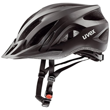 Uvex Fahrradhelm Viva 2, Black Mat, 52-57, 4101040415 -