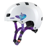 Uvex Kinder Fahrradhelm Kid 3, Butterfly Blue, 51-55, 4148190515 -