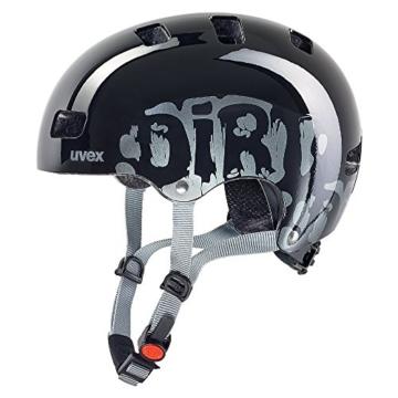 Uvex Kinder Fahrradhelm Kid 3, Dirtbike Black, 55-58, 4148190917 -