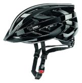 Uvex Unisex Fahrradhelm I-Vo, black, 56-60cm, 4104240217 -
