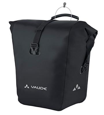 Vaude Radtasche Aqua Back, black, 37 x 33 x 19 cm, 48 Liter, 10917 -