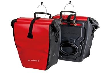 Vaude Radtasche Aqua Back, red/black, 37 x 33 x 19 cm, 48 Liter, 10917 -
