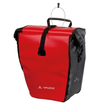 Vaude Radtasche Aqua Back Single, red/black, 37 x 33 x 19 cm, 24 Liter, 10918 -
